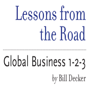 International Business Podcast Audio Book – Lessons From The Road